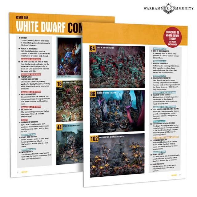 White Dwarf Preview Issue 455