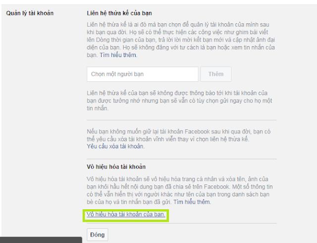 (FAQ 1) - Khóa tài khoản Facebook tạm thời và mở khóa Facebook trên Cốc Cốc 2