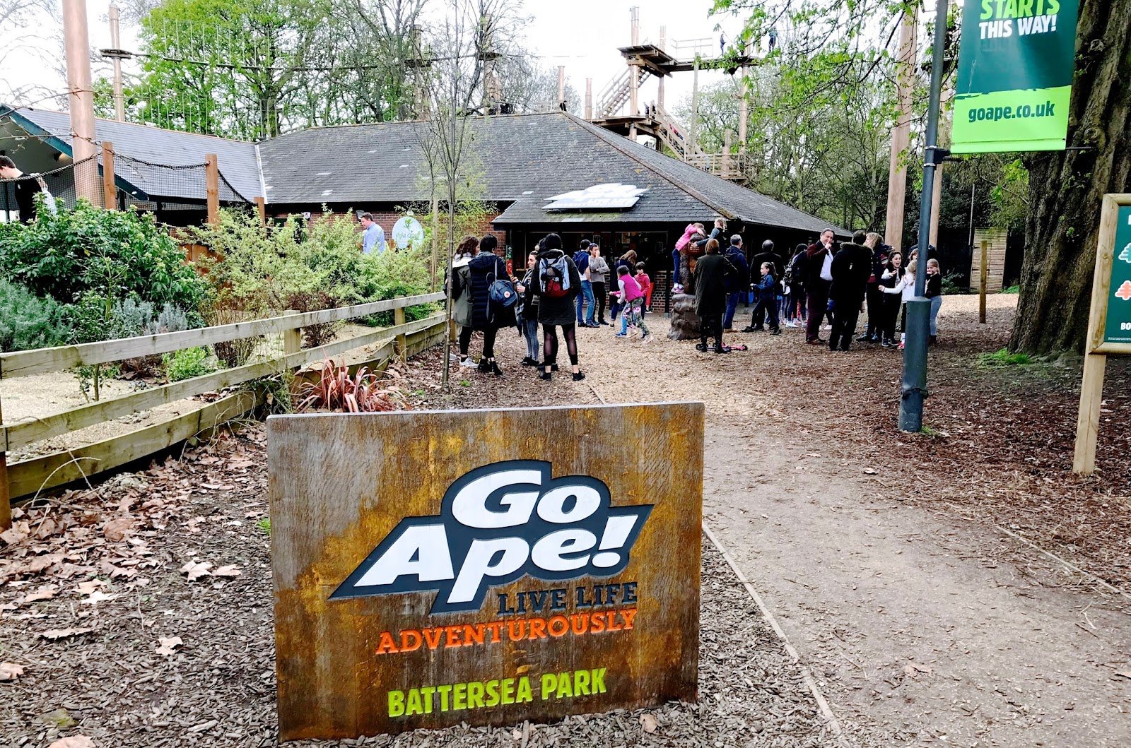 Go Ape Adventure Battersea Park