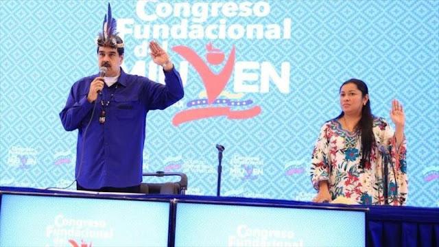 Maduro celebra darles el poder político a pueblos indígenas