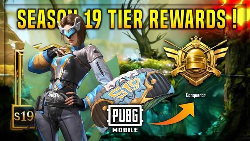 PUBG Mobile Season 19 Tier Rewards : Check it out Here