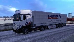 Schmitz Cargo Bull trailer by EviL