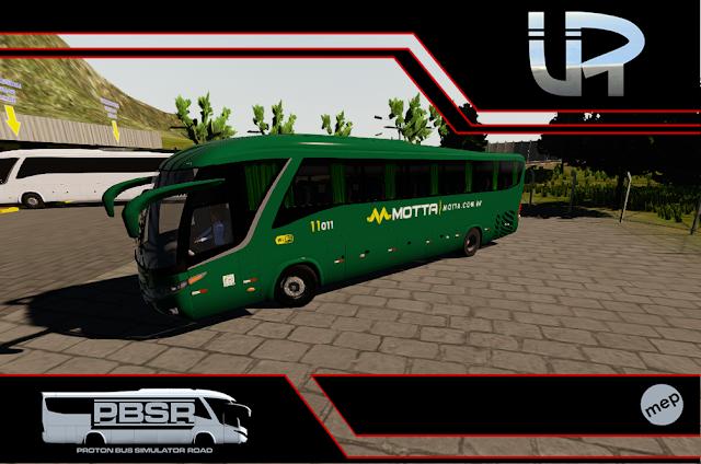 Skin Proton Bus Simulator Road - G7 1200 MB O-500 RS Viação Motta