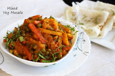 yummy side dish or vegetable side dish for breakfast dosa or rice ayeshas kitchen