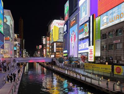 jembatan di Osaka