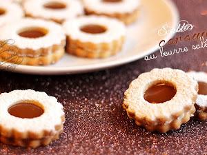 Sablés au caramel au beurre salé {biscuits}
