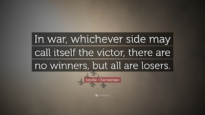 In War There Are No Winners And Losers