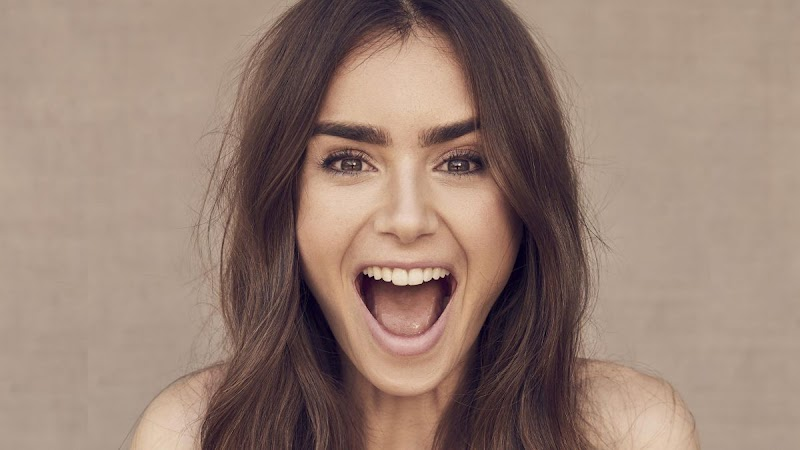 Lily Collins Clicked for The Sunday Times Style -  October 2020
