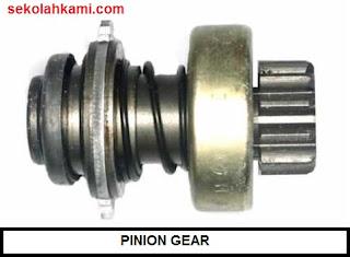 komponen komponen motor starter
