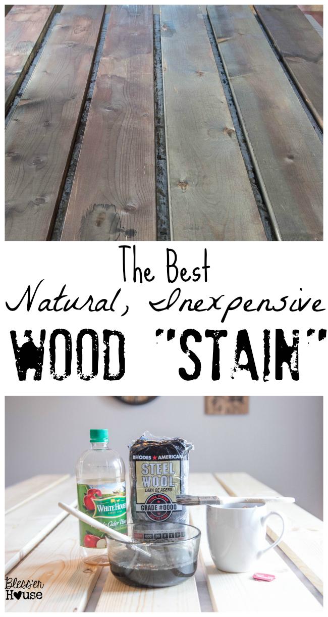 Steel Wool And Vinegar Stain Recipe