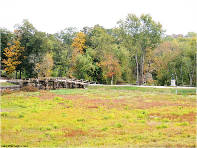North Bridge en el Minute Man National Park de Concord