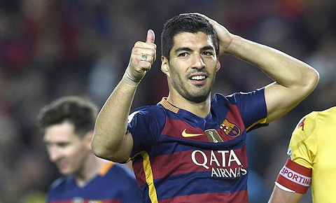 Kể từ bàn thắng đầu tiên, Luis Suarez chưa từng dừng lại.