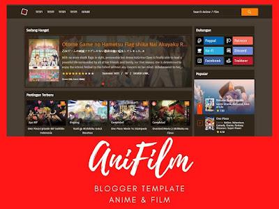 Blogger Template (Anime & Film) AniFilm