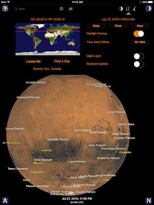 Mars Atlas on iOS