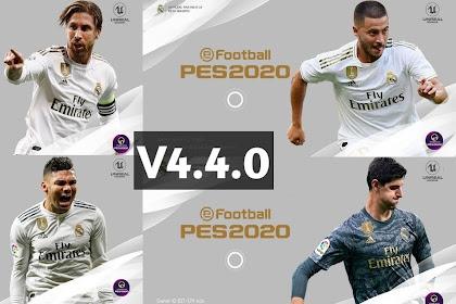 PATCH PES 2020 REAL MADRID V4.4.0 (OBB+CPK) BY STRANGER SHAFIUL