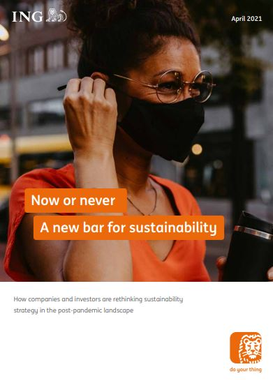 Now or never: A new bar for sustainability