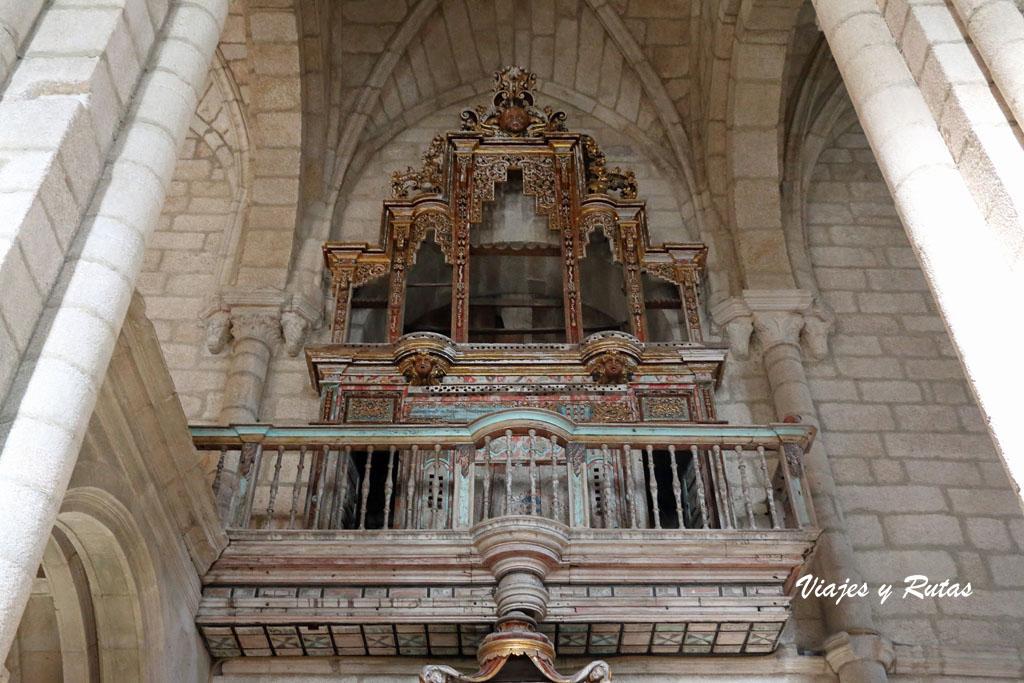 Órgano de la Iglesia de Santo Estevo de Ribas de Sil