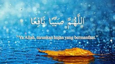 Bacaan Doa Turun Hujan dan Artinya