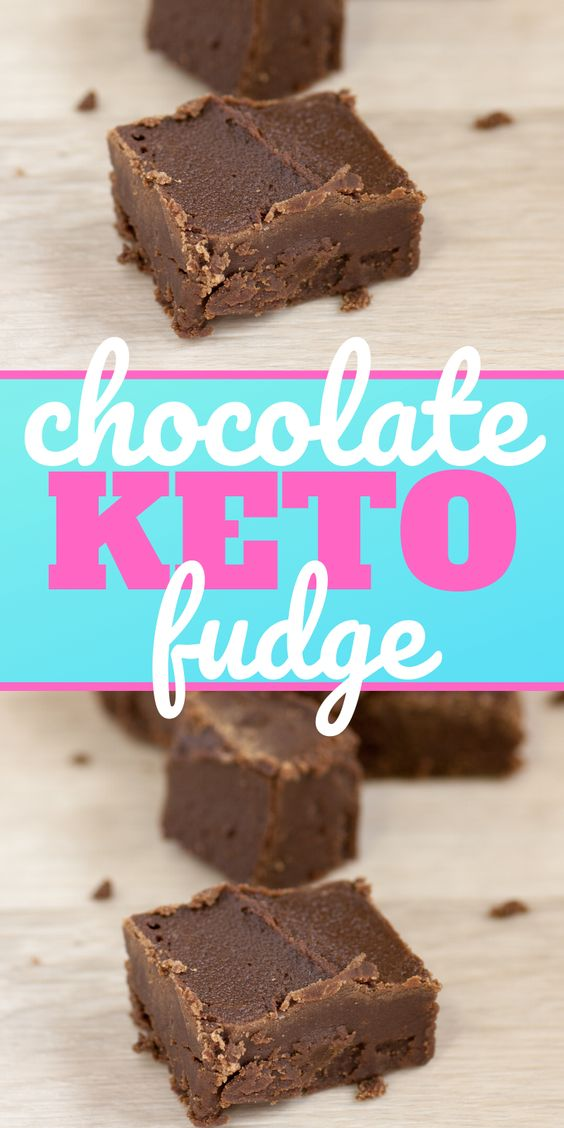 Keto Low Carb Chocolate Fudge