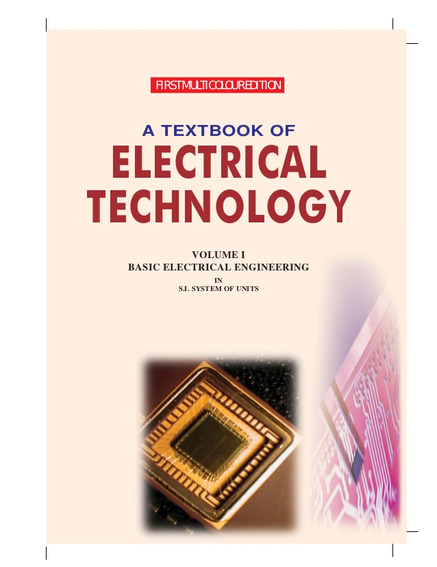A textbook of electrical technology volume ii. By b l theraja.