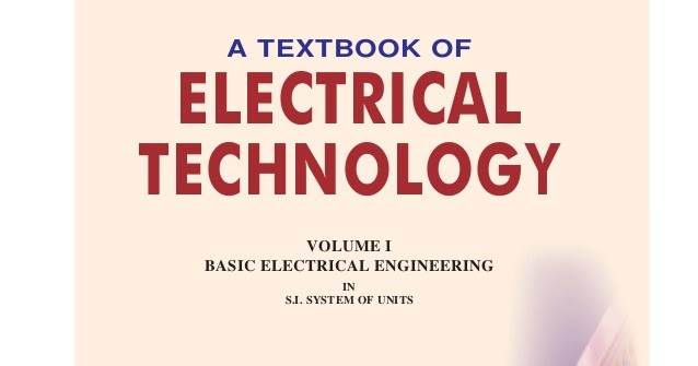 A Textbook Of Electrical Technology By A K B L Theraja