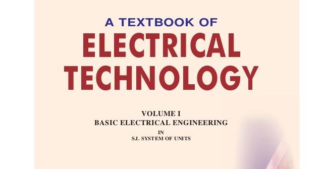 BL Theraja PDF Book Vol 1+2+3+4 | A Textbook of Electrical ...