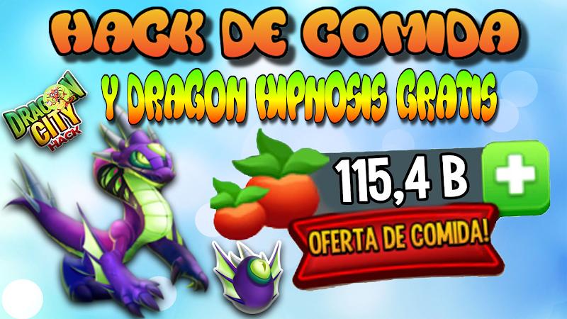 HACK COMIDA 10M DE COMIDA & DRAGON HIPNOSIS