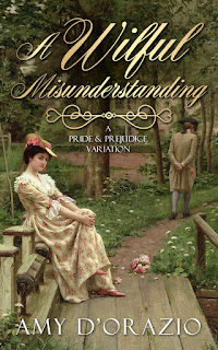 Book cover: A Wilful Misunderstanding by Amy D'Orazio