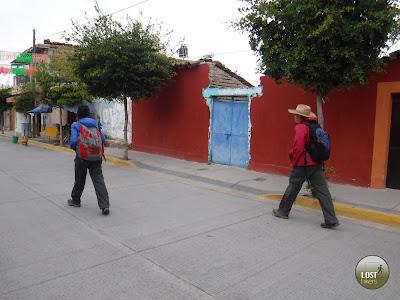 En la calle Parroquia de San Lucas Evangelista
