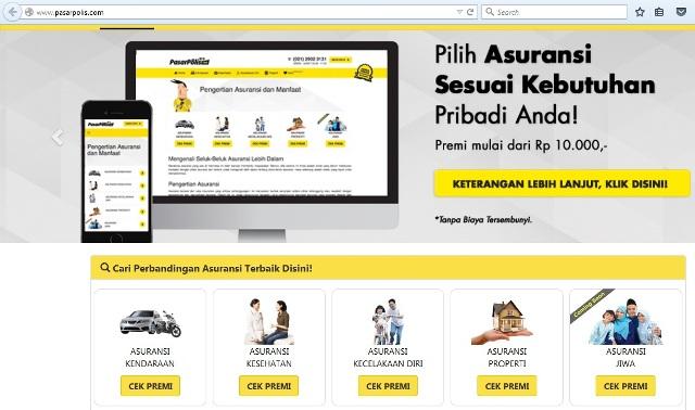 Website Pasar Polis