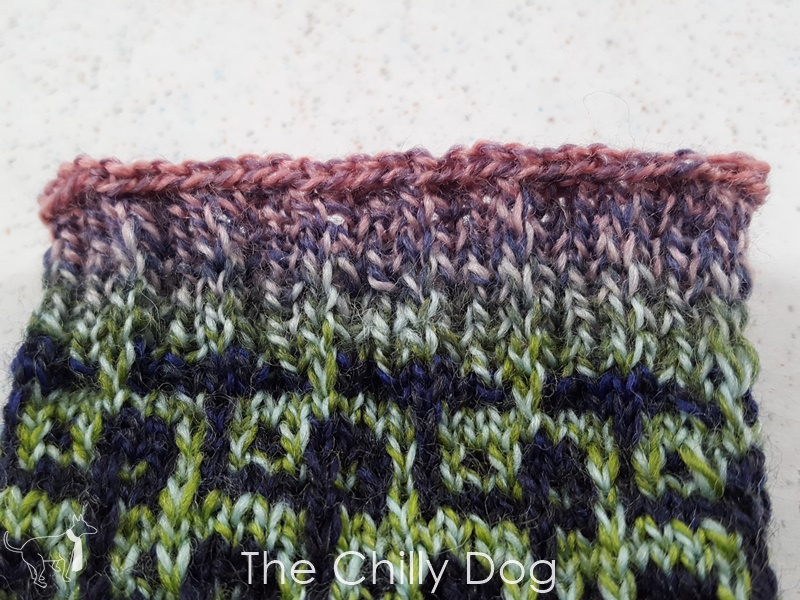 Knitting Tutorial Lace Bind Off The Chilly Dog