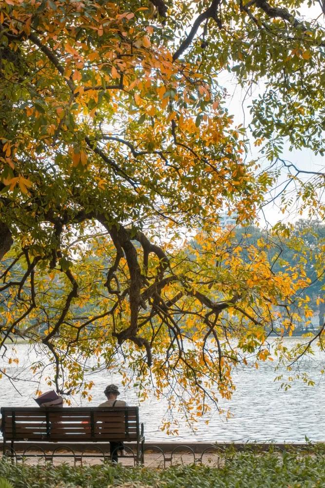 Hanoi autumn.