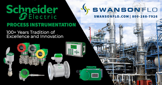 Schneider Electric Process Instruments from Swanson Flo