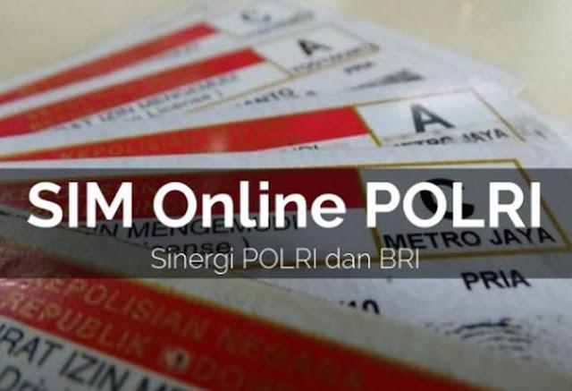 Terobosan Polri, Bikin SIM secara online