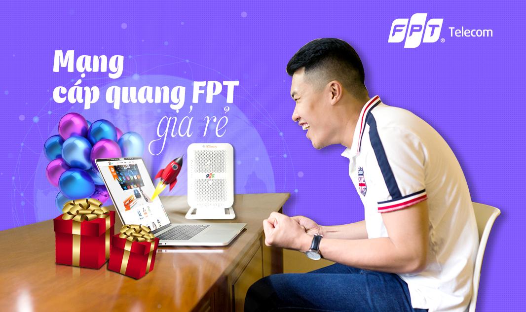 ĐĂng ký internet cáp quang FPT Tây Ninh chỉ từ 185.000 đ/tháng