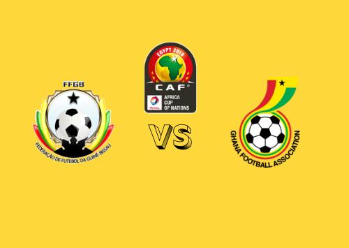 Guinea-Bissau vs Ghana  Resumen