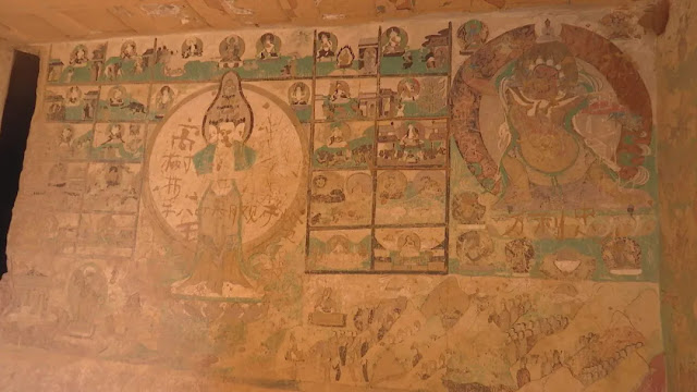 Restoration completed on seven grottoes with frescoes in North China