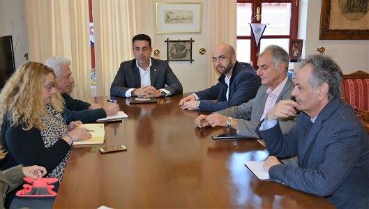 Καταλυτικά για την ανάπτυξη του Δήμου και της Περιφέρειας τα θέματα που έθεσε ο Δημήτρης Κωστούρος στον Γιάννη Βουλγαράκη