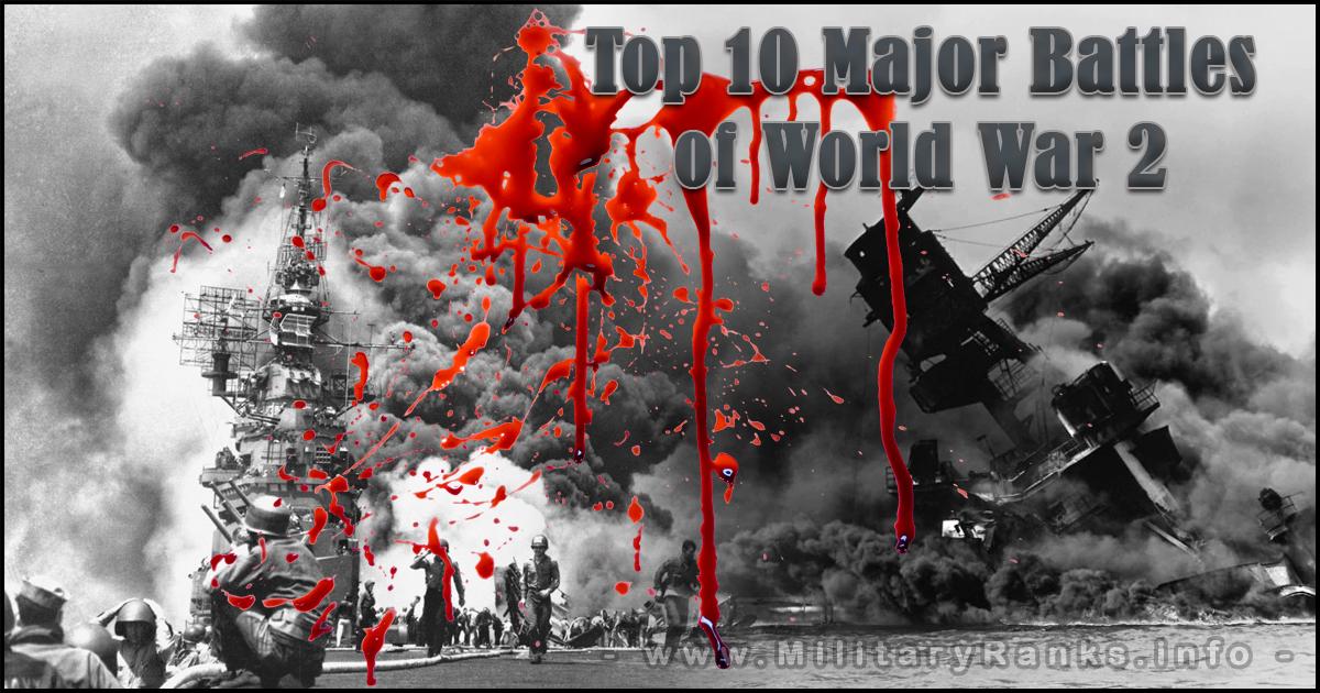 Top 10 Major Battles of World War 2 Most Important Battles of WW2 Top 10 Most Significant Battles of World War 2