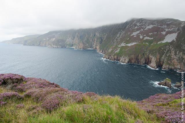 Acantilados Slieve Leagues Condado de Donegal Irlanda