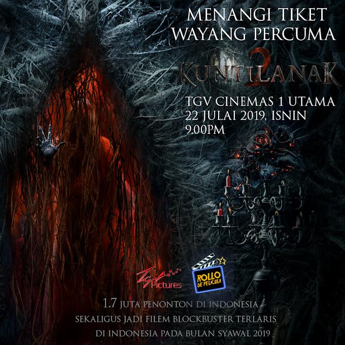 Peraduan Tiket Wayang: Filem Kuntilanak 2
