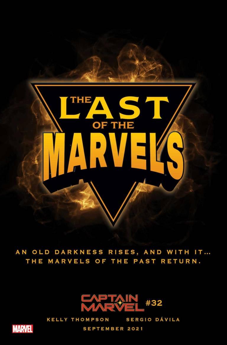 Marvel Comics muestra un teaser de Captain Marvel # 32