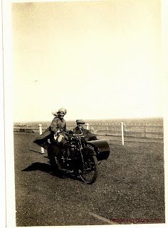 1919 Douglas with sidecar