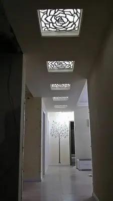 ديكور جبس اسقف للصالون الصغير