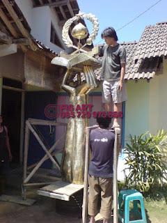 Patung Tembaga Kuningan