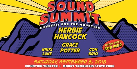 9/8: SOUND SUMMIT featuring Herbie Hancock, Grace Potter, Bob Weir, Nikki Lane, & Con Brio