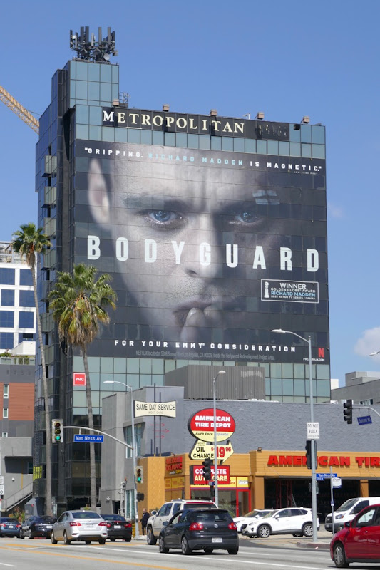 Giant Bodyguard 2019 Emmy FYC billboard