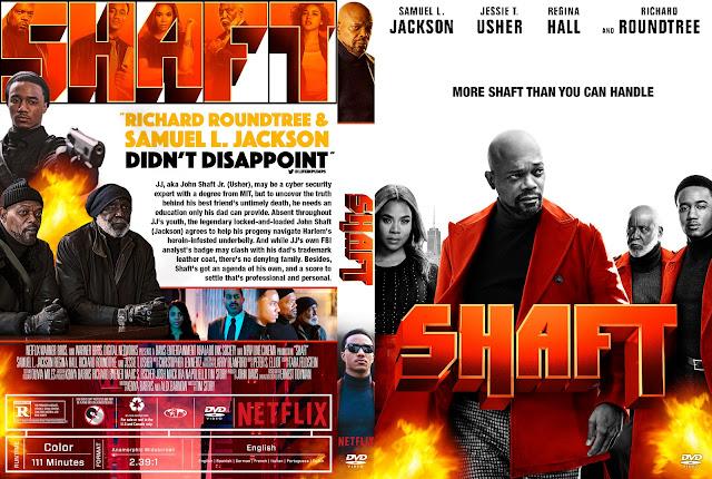 Shaft 2019 DVD Cover