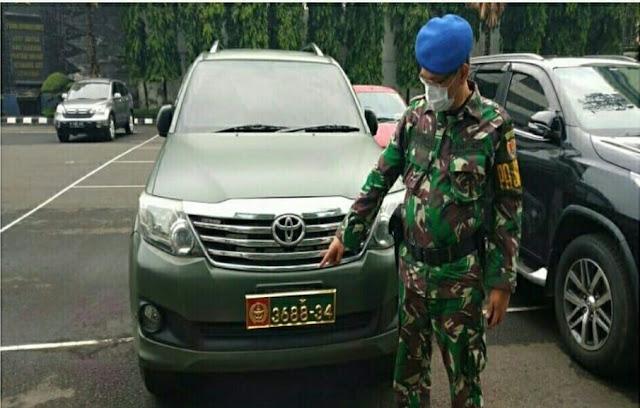 Gunakan Mobil Dinas TNI AD, Ahon Diperiksa Polisi Militer