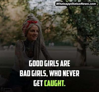 Funny Attitude Status for Girls